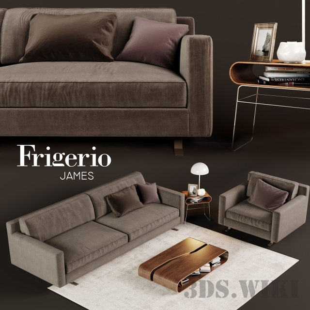 Frigerio James sofa and table