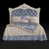 Classic bed 5 Letto by Modenese Gastone