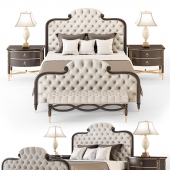 The Everly King Bed Set (Corona)