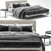 Feel Good Bed B by Flexform