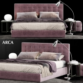 Poliform Arca Bed 3D model