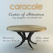 Center of Attention Caracole table