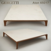 Coffee table Giorgetti Aton 65017