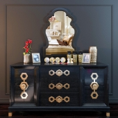 Decorative set wich Jonathan Adler.TURNER CREDENZA