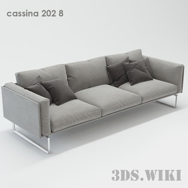 Modern sofa 202 8 by Cassina