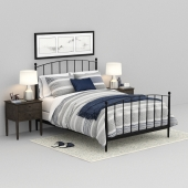 Mason Shadow Queen Bed