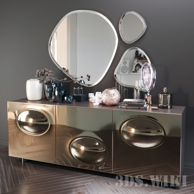 Chest of drawers Paramount by Cattelan Italia