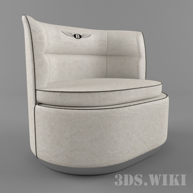 Duke Armchair white