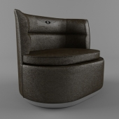 Duke Armchair brown
