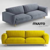 Modern rest sofa by Muuto