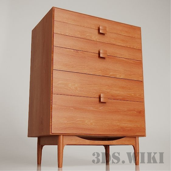 Chest of Drawers by Ib Kofod Larsen