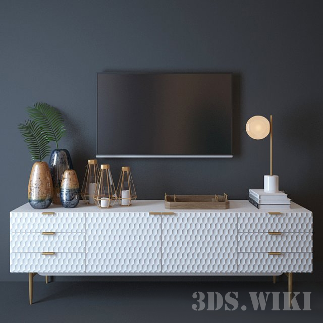 Консоль West elm Audrey Media