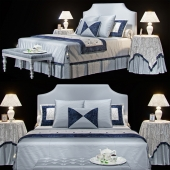 AVALON classic bed (max 2011 Vray)