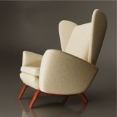 Lounge Chair by Howard Keith