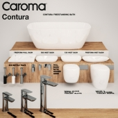 Caroma Contura Bathroom Collection