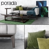 Sofa and tables Porada