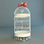 Cage with birds eglami