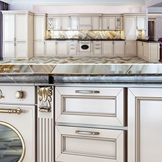 Classical kitchen ivory
