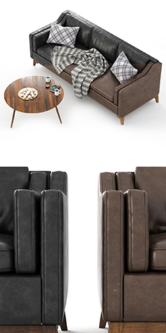 Worthington_Sofa_&_Coffe_Table_Amoeba
