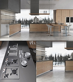 Contemporary kitchen 02 1