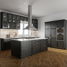 IKEA Lerhyttan kitchen