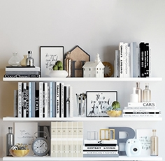 Decorative set of books