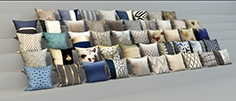 set of 48 pillows set of 48 semi