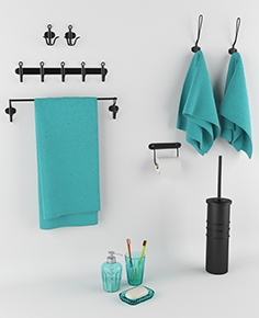 Accessories for IKEA bathroom - SVARTSJÖN series