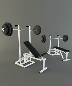 Home made trainer - Bench press