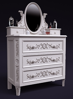 Chest of drawers Cameo