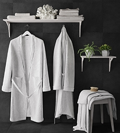 Bathrobe set