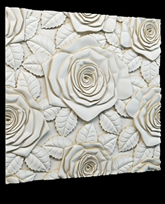 Decorative 3D panel P-6