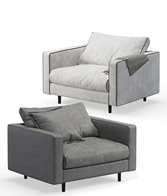 Baxter Stoccolma armchairs