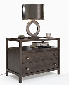 Crate and Barrel - Keane Nightstand