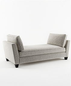 Crate and  Barrel banquette