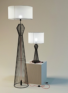 Eglo Valseno table lamp and floor lamp