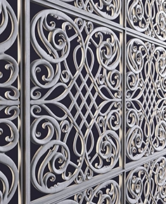 Decorative modern panel