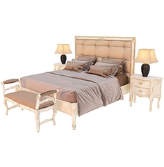 Bed Florence Art Letto