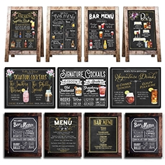 Chalkboard for cafe 2