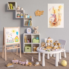 Modular furniture IKEA, accessories, decor and toys set 51