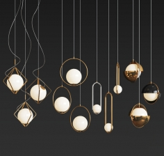 Ceiling Light Collection - 4 Type