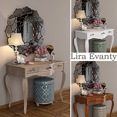 Dressing table Lira from Evanty