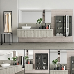Bathroom furniture set Rush