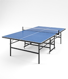 Table tennis start line leader