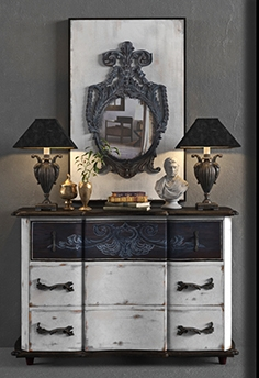 Dresser with mirror GuildMaster
