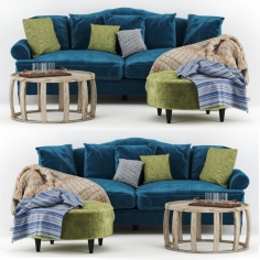 Coco sofa and daybed Oz design furniture