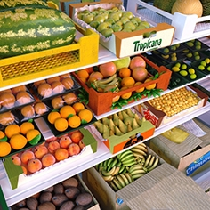 Kit environment for the store fruit department