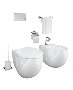 Villeroy and Boch Aveo toilet and bidet