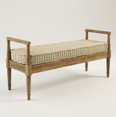 Gramercy Home  - Dudley bench 801.002