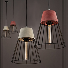 Cement Drop light Pendant Light cone
